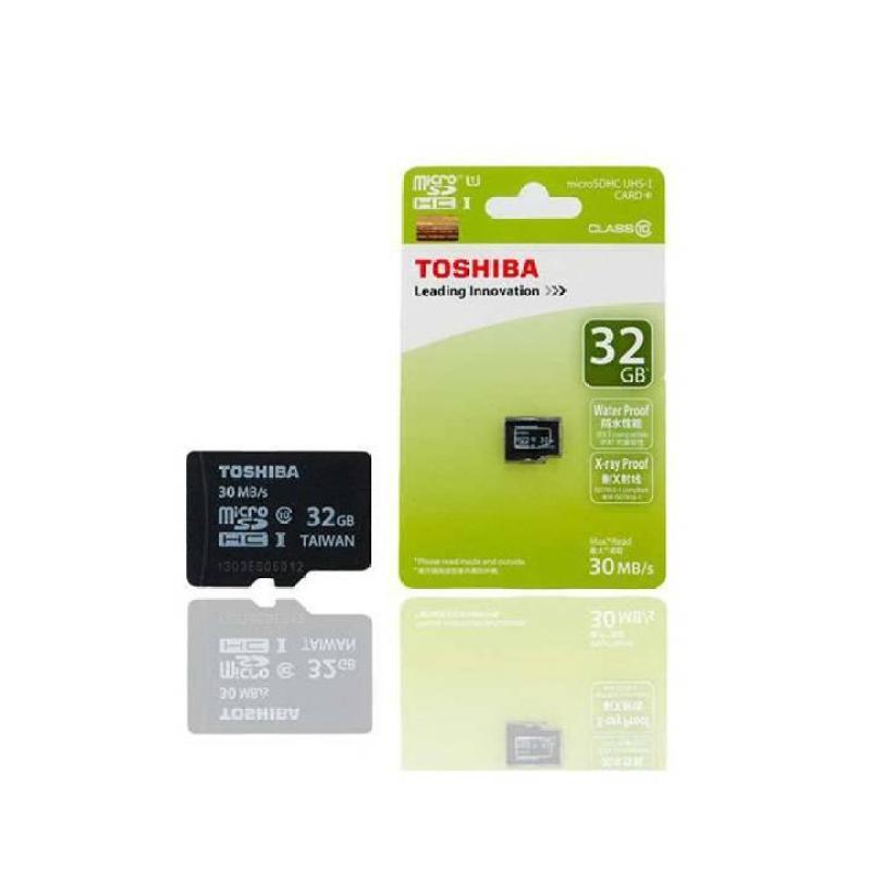 Thẻ Nhớ Micro SD Toshiba 32G Class 10 40MB Box Xanh