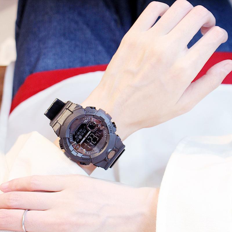Nơi bán Đồng hồ nữ thể thao Shhors AOSUN chạy kim và số điện tử cực chất size 30MM