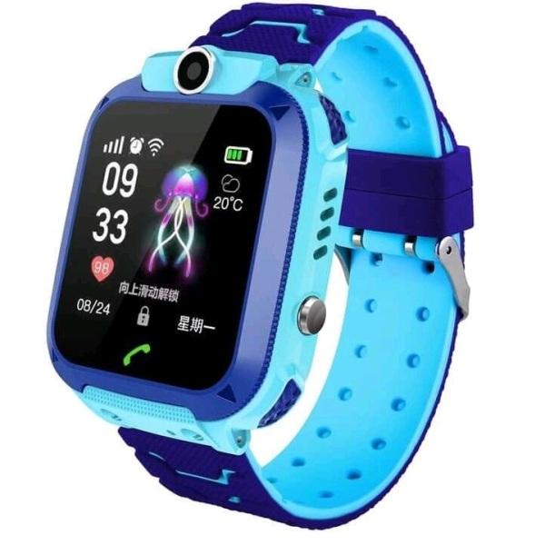Đồng hồ định vị trẻ em Q12 lắp sim nghe gọi định vị chống nước IP6