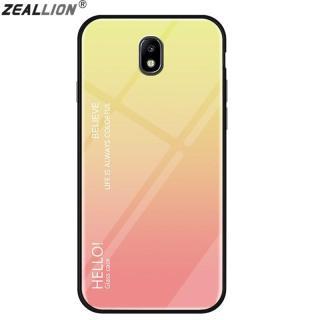 Zeallion Cho [Samsung Galaxy J730 J7 Pro] Ốp Lưng Kính Cường Lực Gradient Ốp Bảo Vệ Điện Thoại thumbnail