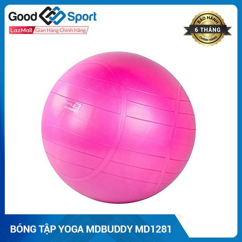 Bảng giá Bóng Yoga, Bóng Tập Yoga Trơn Kích Thước 55Cm Cao Cấp- Bóng Tròn Tập Yoga MDBuddy MD1281 55cm