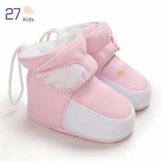 Bốt Trẻ Em Tập Đi 27 Tuổi, Giày Cũi Mùa Đông Mềm Chống Trượt Ấm Áp Cho Bé Trai Bé Gái Cho 0-18M