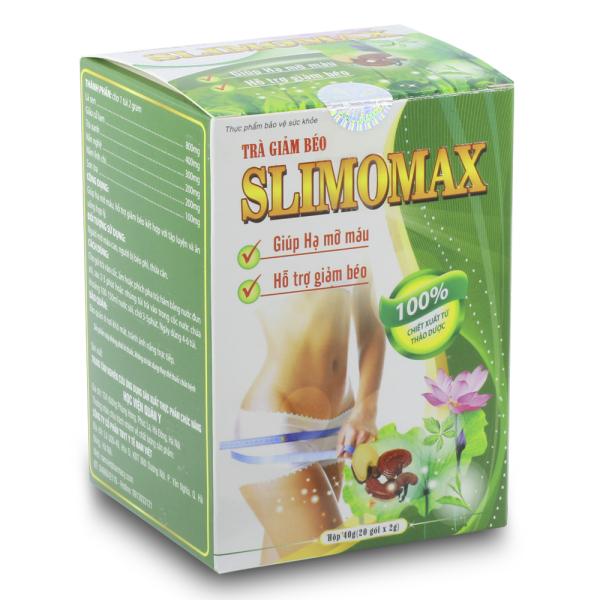 Trà giảm béo Slimomax học viện quân y 20 gói cao cấp
