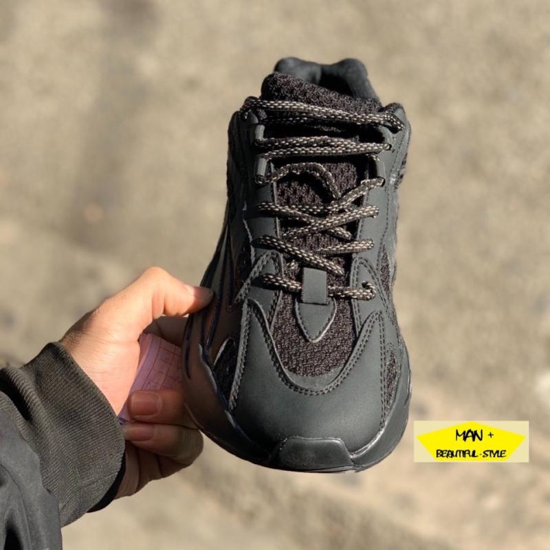 (FULL BOX) Giày thể thao nam nữ sneaker YEEZY BOOST 700 static đen phản quang