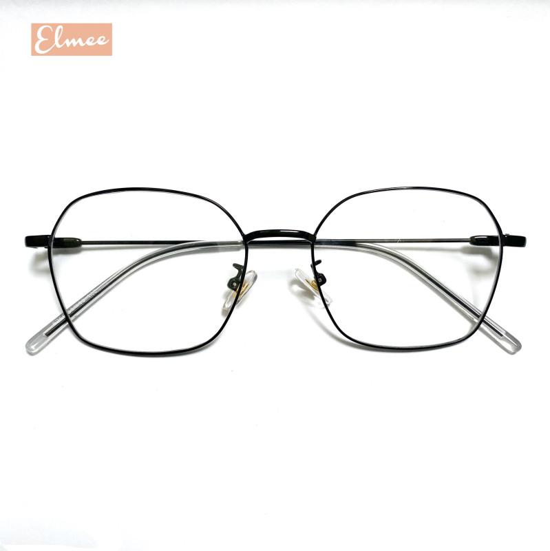 Giá bán Gọng kính cận mắt vuông dáng Hàn Quốc Elmee - có cắt mắt cận