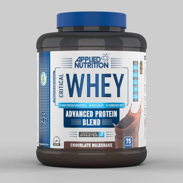 Sữa tăng cơ - Crittical Whey - Applied Nutrtion - Critical Whey 2,27KG - 75 Lần Dùng & Bình lắc 400 ml