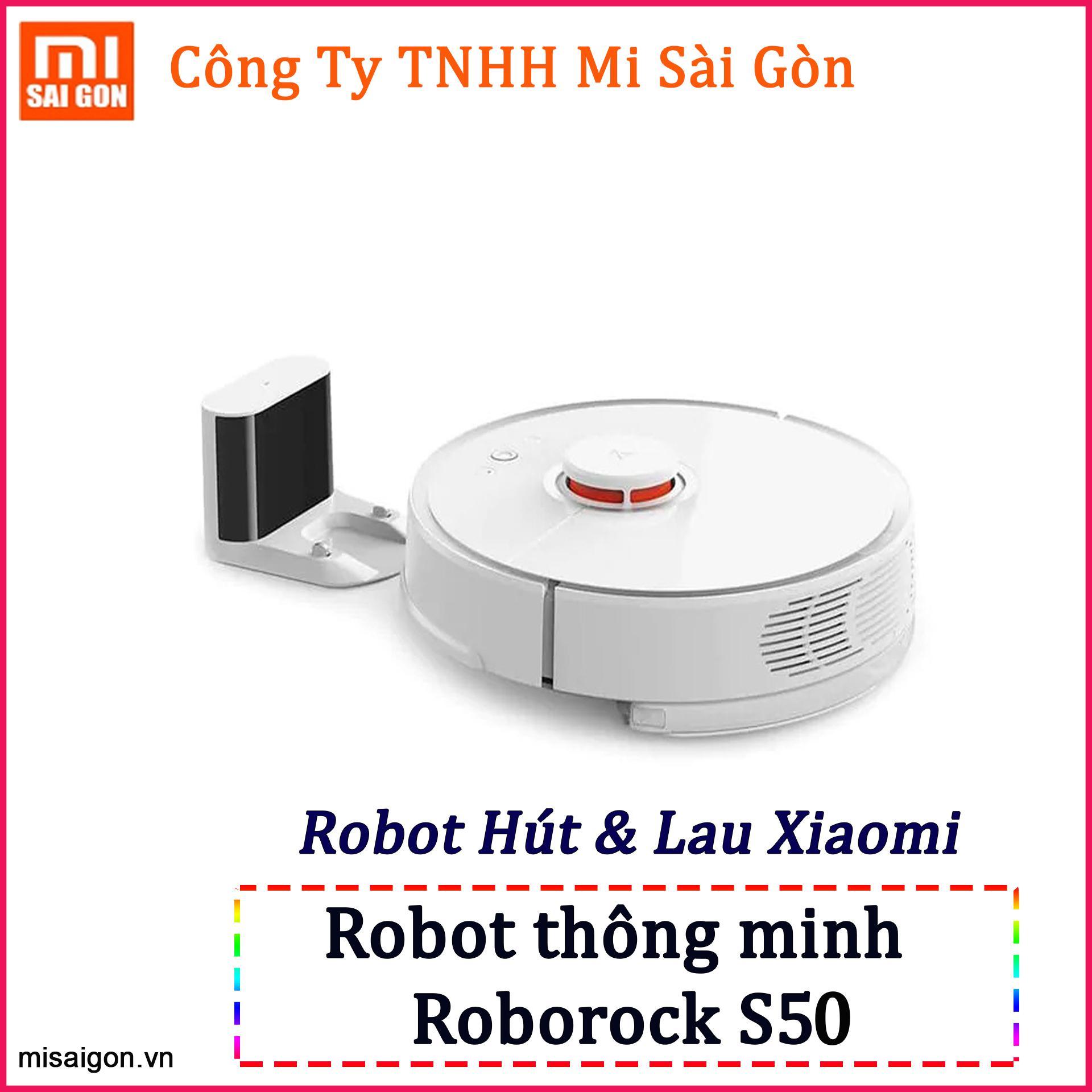Robot Hút Bụi Thông Minh Xiaomi Mi Roborock S50 Gen 2