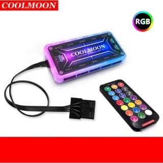 GIÁ ĐỠ VGA COOLMOON LED RGB 25CM thumbnail