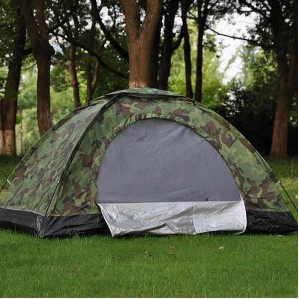 Lều Cắm Trại Chống Thấm Nước Vải Dù Kích Thước 200x150x110cm - lều du lịch - lều cắm trại 2 người