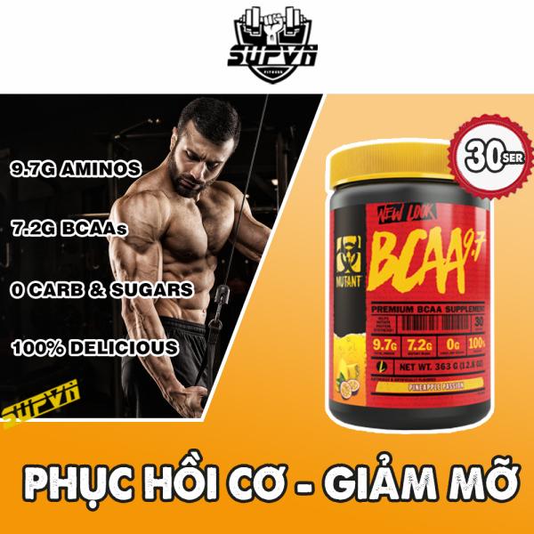 Mutant Bcaa 9.7 - Hỗ trợ phát triển cơ bắp và phục hồi cơ, chống dị hóa cơ 30ser cao cấp