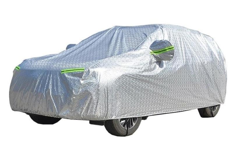 Bạt Ô Tô, Bạt phủ xe hơi - áo trùm oto tráng nhôm bạc 4 chỗ đến 7 chỗ, 2 lớp chống nóng, chống mưa, chống xước Loại Đẹp