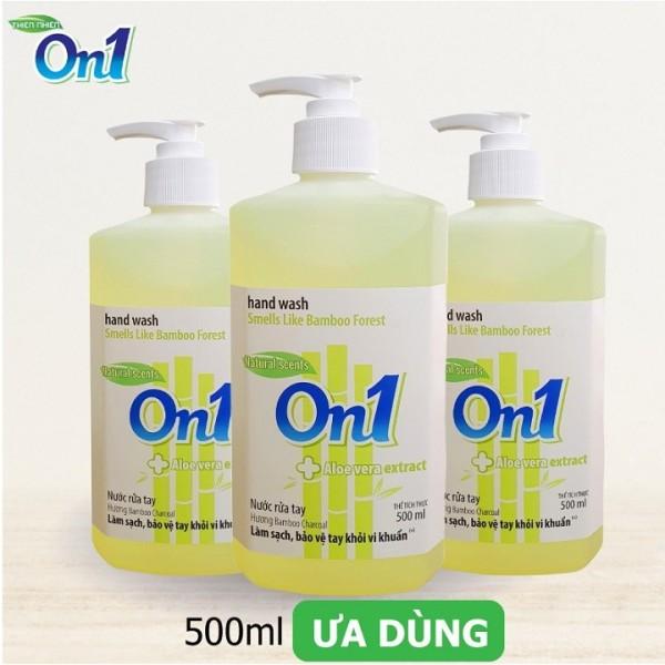 Nước rửa tay sạch khuẩn On1 500ml 👉hương BamBoo Charcoal👉SIÊU SẠCH KHUẨN