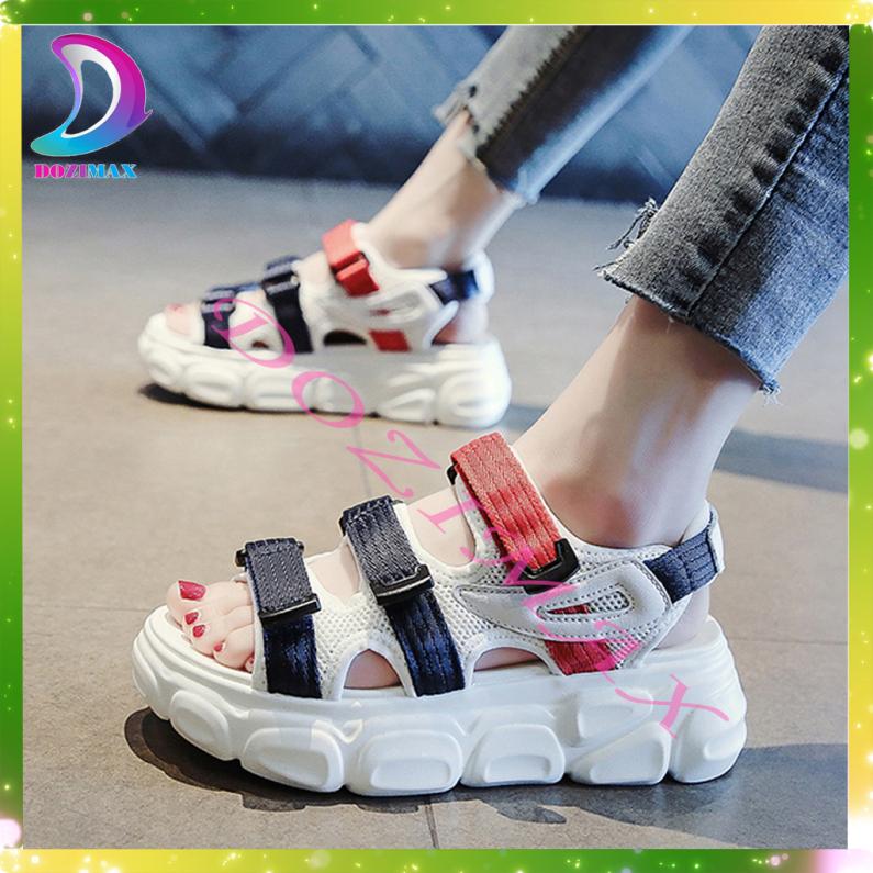 giày nữ sandal -giay sandal nu di hoc GILA - mẫu hot 2020 đi siêu êm siêu bền đế 5cm -DOZIMAX [Chỉ sale 3 ngày - GIÁ CỰC SHOCK ] giá rẻ