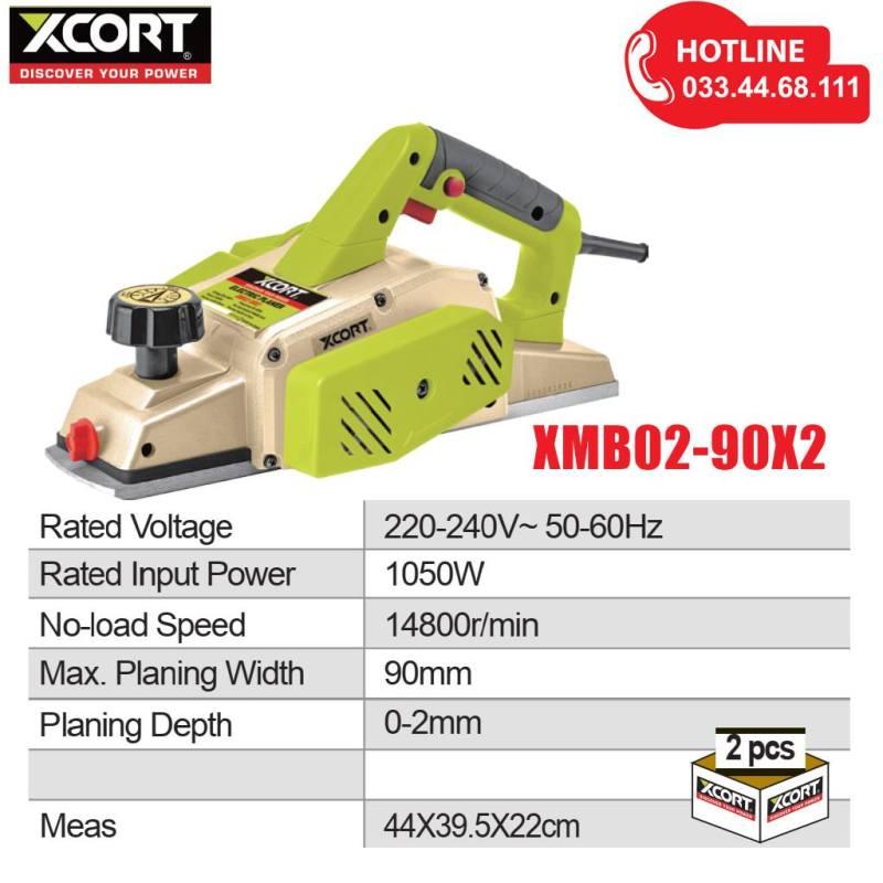 Máy bào gỗ bề mặt 1050W XCORT Máy bào gỗ điện cầm tay Bảo hành hãng 12 tháng