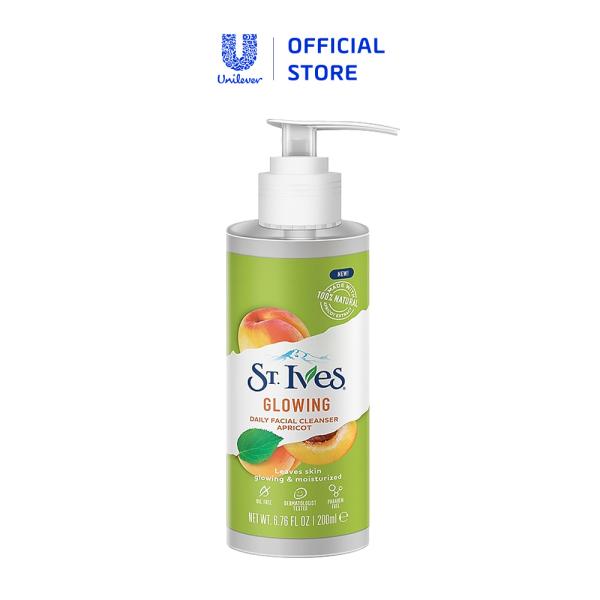 Sữa rửa mặt St.Ives trái mơ tươi mát 200ml cao cấp