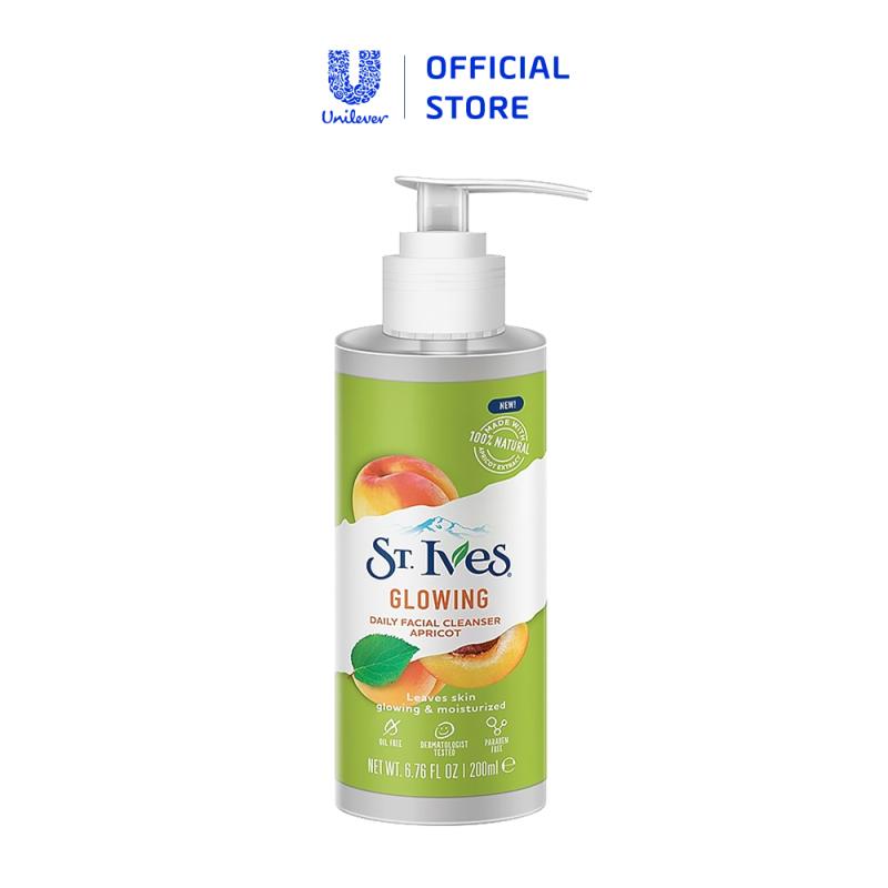 Sữa rửa mặt St.Ives trái mơ tươi mát 200ml