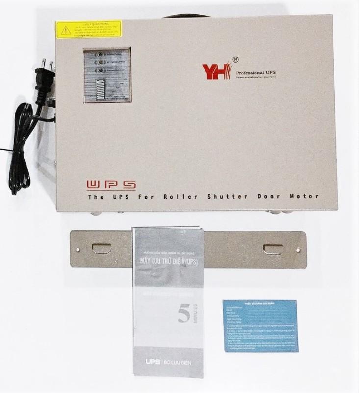 Bảng giá Bộ lưu điện cửa cuốn YH-B400 Đài Loan - Pin 12V - 9Ah - 10000W, lưu điện 48 tiếng, sử dụng nhiều loại motor 600kg, tự động hoàn toàn, bảo hành 1 năm Phong Vũ