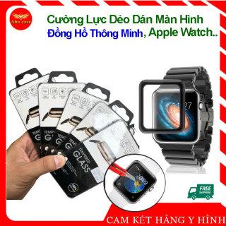 Kính cường lực Dẻo Dán BẢO VỆ MÀN HÌNH cho Apple Watch size 38 40 42 44mm, đồng hồ thông minh chống trầy xước, cảm ứng mượt, dán ppf màn hình thumbnail