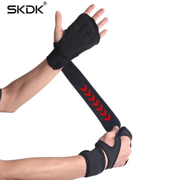 Găng tay tập gym kết hợp bảo vệ cổ tay thời trang cao cấp ( Silicon )