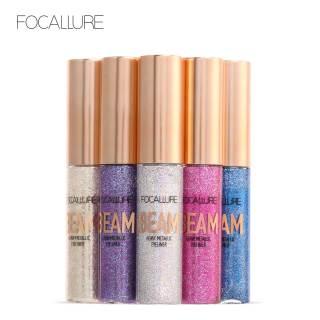 Bút kẻ mắt FOCALLURE dạng lỏng ánh nhũ không thấm nước, bền màu lâu trôi với 5 màu tùy chọn, trong lượng 8G - INTL thumbnail