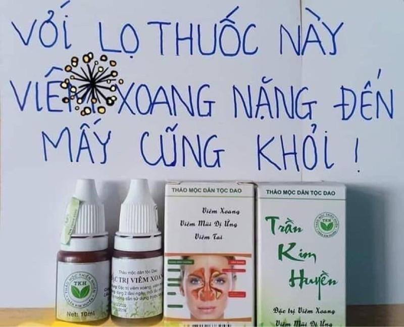 Viêm Xoang,viêm mũi dị ứng TKH nhập khẩu
