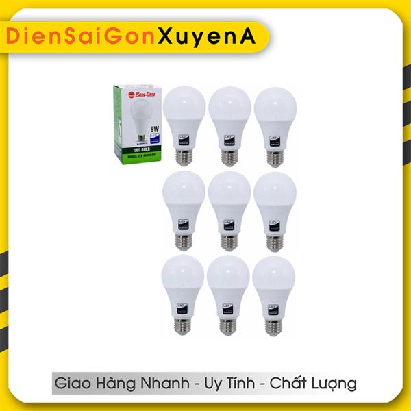 Combo 6 Bóng đèn LED Bulb 9W Rạng Đông E27 ChipLed Samsung