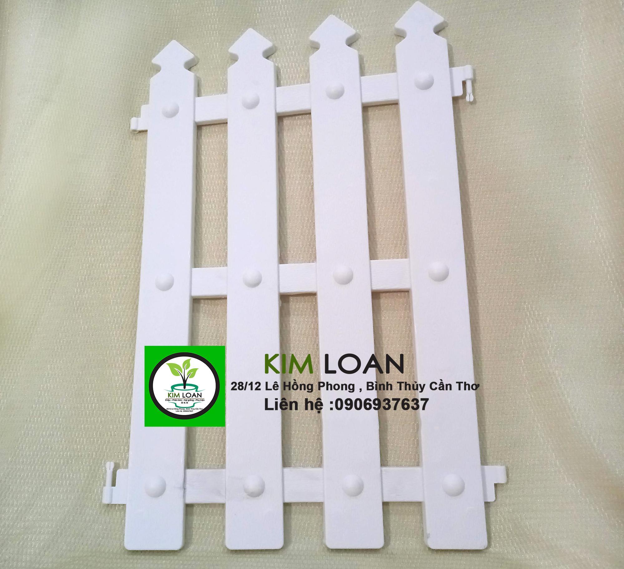 Combo 5 hàng rào nhựa đầu nhọn 30x50cm