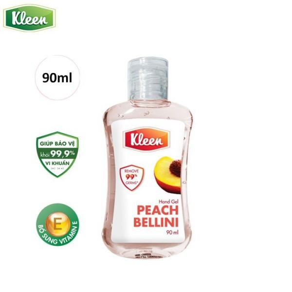 [GIFT] Gel rửa tay Kleen- Hương Đào 90ml