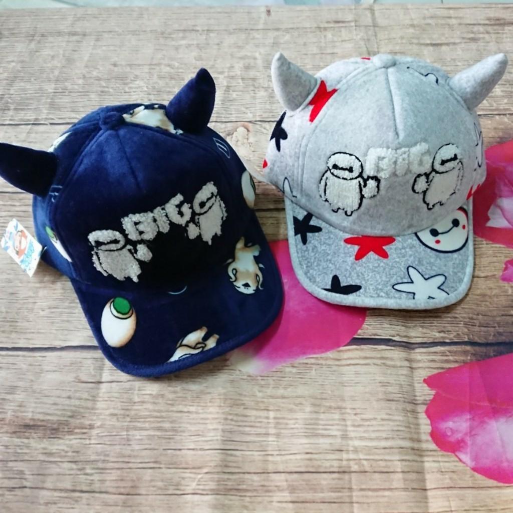Set 2 nón lưỡi trai cho bé trai và gái Nhật Bản