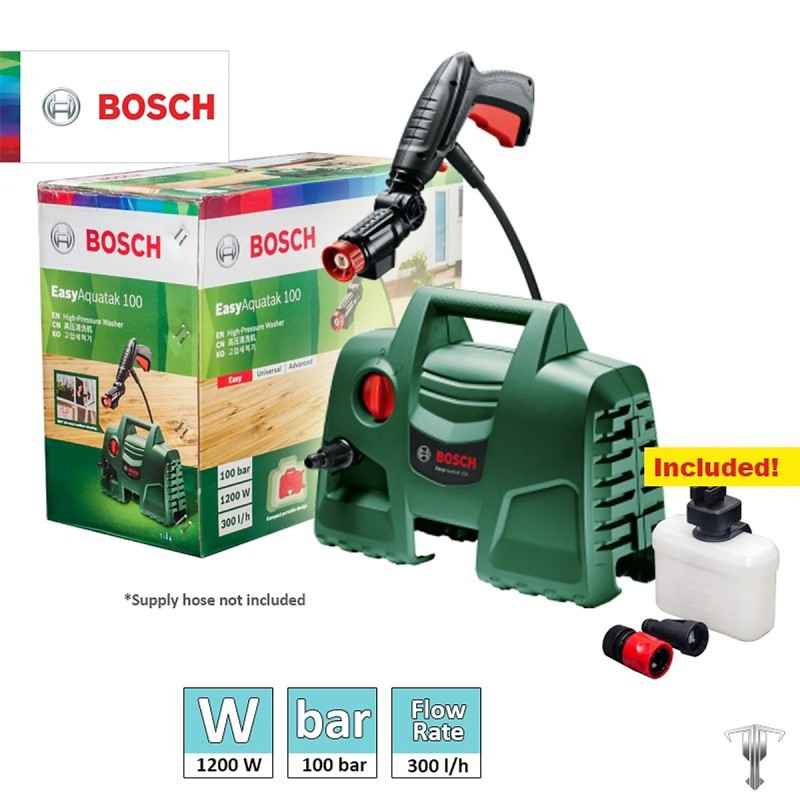 Máy phun xịt rửa áp lực cao Bosch Easy Aquatak 100