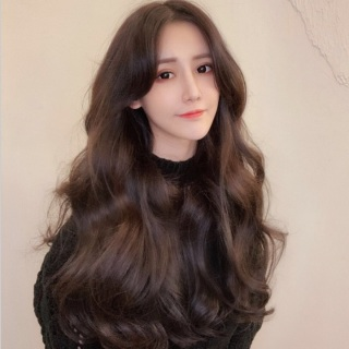Tóc giả nữ Hàn Quốc kèm lưới T266 thumbnail