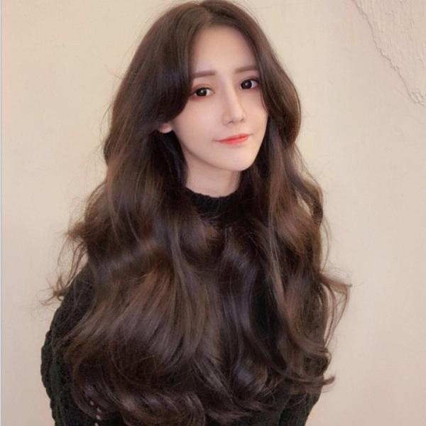 Tóc giả nữ Hàn Quốc kèm lưới T266 giá rẻ