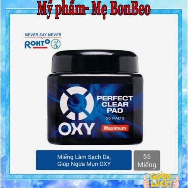 Miếng Làm Sạch Da Mặt Oxy - Oxy Perfect Clear Pad (55 Miếng) nhập khẩu