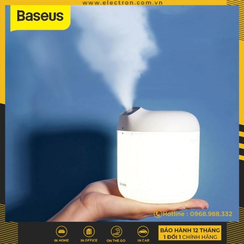 Máy phun sương tạo ẩm Baseus Elephant Humidifier (600ml , Air Diffuser, Large Spray with LED Night Light)