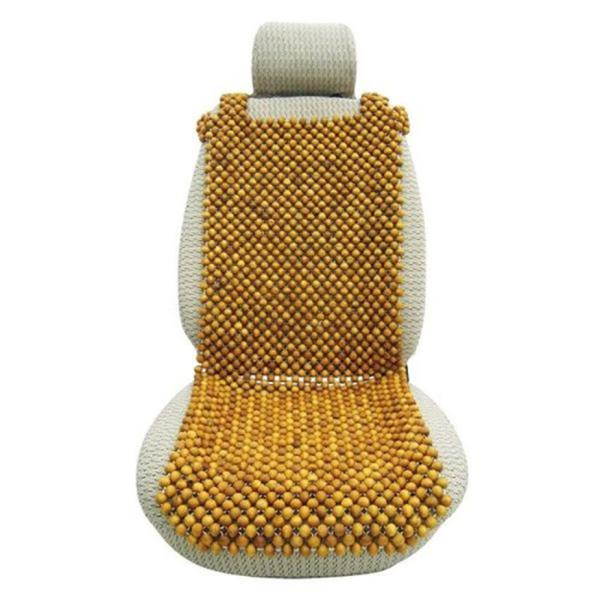 Lót ghế ô tô hạt gỗ thông bền đẹp - hạt lót ghế gỗ