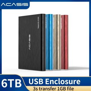 ACASIS Vỏ ổ cứng gắn ngoài Bao vây 2,5 inch SATA sang USB 3.0 Ổ cứng SSD Bao vây HDD Hỗ trợ thiết kế tối đa 4TB với cáp USB 3.0 miễn phí thumbnail