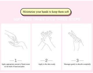 BAIMISS Goat Milk Hand Cream Moisturizing And Rejuvenation Hand Care 7