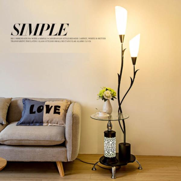 Bảng giá Đèn đứng tích hợp bàn cà phê sang chảnh cho không gian nội thất đẹp