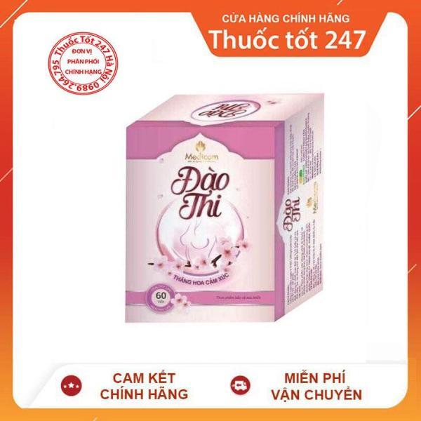 Viên Uống Tăng Kích Thước Vòng 1 ĐÀO THI - hộp 40v