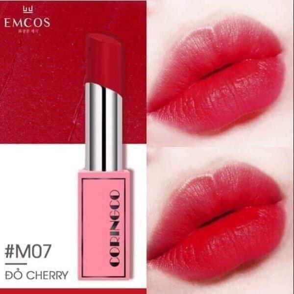 Son Emcos Coringco Cherry Chu Bonny Liptick Matte giá rẻ