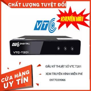 Đầu thu truyền hình mặt đất VTC T2, đầu thu kỹ thuật số Model T201 dùng cho mọi loại TIVI thumbnail