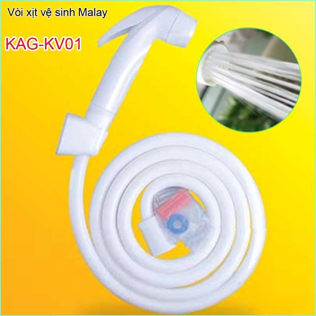 Vòi xịt Malay, vòi xịt rửa vệ sinh Malaysia KAG-KV01