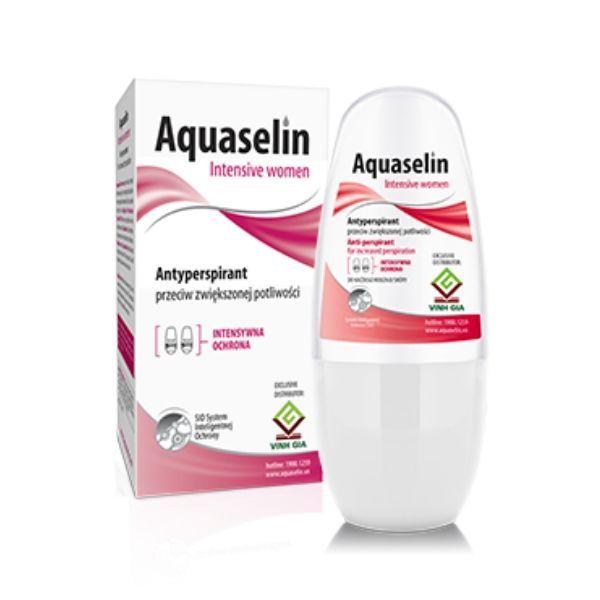 Lăn Nách Khử Mùi Aquaselin Intensive Women Cho Nữ cao cấp