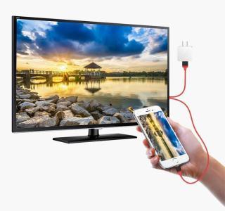 Dây kết nối Cao cấp giữa Tivi (cổng HDMI) với Iphone, Ipad (cổng Lightning) - Nối mạng cho Tivi nhà bạn Cáp MHL sang HDMI, HDTV kết nối điện thoại IOS với TV (iPhone 5 6 7 8 X - IOS 8-10-12) Cáp HDMI nối điện thoại với ti vi dùng cho Iphone [Thao2] Dũng 2