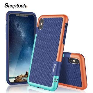 Ốp Sanptoch bằng silicon+TPU mềm chống sốc trơn trượt thiết kế vỏ bọc 3 màu dành cho Iphone 7 8 6 6S Plus 11 Pro Max X Xs Max XR giá tốt - INTL thumbnail