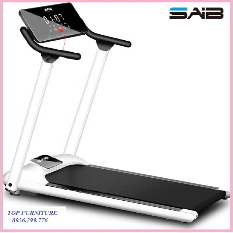re0649 Máy chạy bộ xếp gọn mặt đồng hồ cảm ứng SAIB S1 - Máy tập chạy bộ