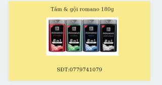 Tắm gội 2in1 nam Romano Classic 180g hương nước hoa cổ điển tóc chắc khoẻ sạch sảng khoái thumbnail