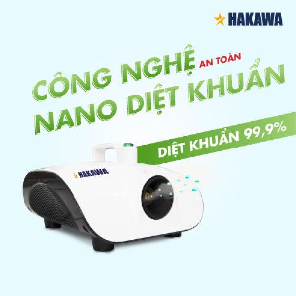 Máy Khử Mùi - Khử Trùng - Khử Khuẩn Công Nghệ HAKAWA HK-2020KT. Sản phẩm chất lượng, chính hãng, bảo hành 5 năm.