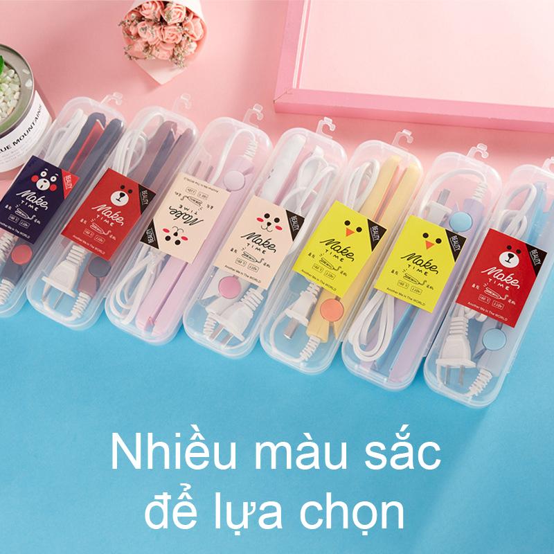 【Urbeauty】Máy duỗi tóc, Máy kẹo tóc Mini (Loại tốt, lớp phủ men gốm) nhiều màu giá rẻ