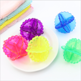 Combo 3 quả cầu gai thả máy giặt hỗ trợ làm sạch quần áo, bóng tẩy lông quần áo chuyên dụng cho máy giặt thumbnail